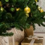 frammento di un albero di Natale — Foto Stock #76134243