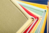 Collection of multicolored books — Stock Photo