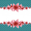 Lily Banner — Stock Vector #63367561