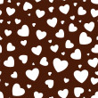 Seamless background with hearts — Stock Vector #65848937