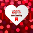 Valentine's Day greeting card — Stock Vector #60559085