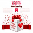 Valentine's Day card — Stock Vector #60559093