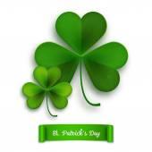 Tarjeta de felicitación de Saint Patricks Day — Vector de stock