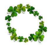 Saint Patricks Day gratulationskort — Stockvektor