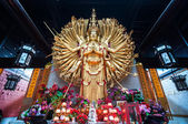 Thousand Hands Guanyin statue — Stock Photo