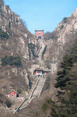 Stairway to Heaven, Taishan, China — Stok fotoğraf