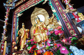 Statue of Guanyin, the Goddess of Mercy, at Lushan Temple, Changsha, China — Stock Photo