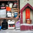 Street shrine on Tai Ping Shan Street, Hong Kong. — Stock Photo #63618851