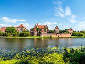 Malbork castle — Stock Photo