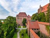Castello di malbork — Foto Stock