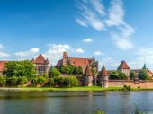 Zamek w malborku — Zdjęcie stockowe