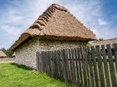 Thatched cottage — Stock Photo
