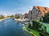 Bydgoszcz Canal — Stock Photo