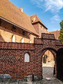 Malbork castle — Stockfoto