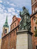Nicolaus Copernicus statue — Stock Photo