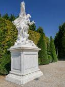 Versailles park sculpture — Stock Photo
