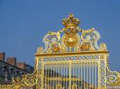 Versailles Palace front gate — Stock Photo