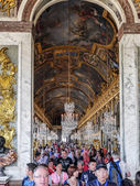Hall of Mirrors, Versailles, France — Stock Photo