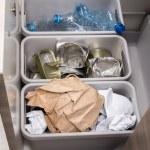 Household garbage segregation — Stock Photo #68923823