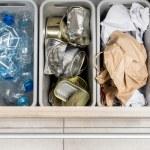 Household garbage segregation — Stock Photo #68923915