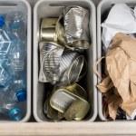 Household garbage segregation — Stock Photo #68929911