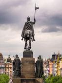 Venceslas monument  — Stock Photo