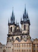 Church of Our Lady in Praque — Stock Photo