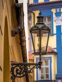 Stylish street lantern — Stock Photo