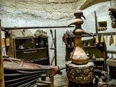 Alchemist workshop — Stock Photo