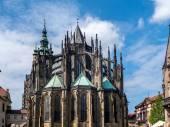 Metropolitan Cathedral of Saints Vitus, Wenceslaus and Adalbert — Stock Photo