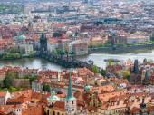 Panorama of Old Town Prague — Stock Photo