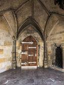Gothic  doorway — Stock Photo