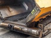 Asphalt paver — Stock Photo