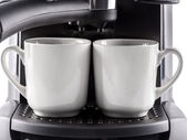 Two cups of coffee — Stock Photo
