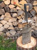 Chopping block — Stock Photo