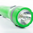 Green flashlight — Stock Photo #52628843