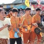NAKRONPHATHUM THAILAND -JULY 6: Wedding ceremony July 6 2014, Th — Stock Photo #53175943