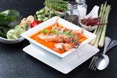 Tom yam kung ,Asian favorite food  — Stock Photo