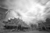 Watpaphukon tempel plaats van religieuze boeddhisten activiteit — Stockfoto