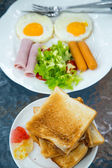 Thai style breakfast — Stock Photo