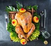 Turkey roast Chicken for celebration — Stock Photo