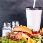 Humburger set — Stock Photo #71533883