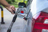 Alternative refuel fuel ,CNG,LPG ,NGV  — Stock Photo