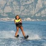 Water skiing — Stock Photo #52446021