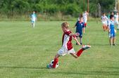 Kids' soccer — Stock Photo