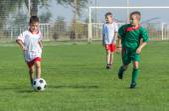 Děti fotbal — Stock fotografie