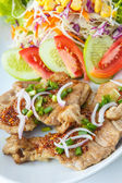 Thai Spicy-Sour Grilled Pork — Stock Photo