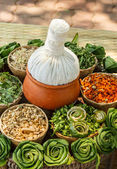 Thai Herbal Compress — Stock Photo