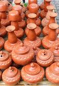Cerâmica de barro tailandês do Norte — Fotografia Stock