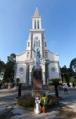 Huyen Sy Church in Ho Chi Minh City (Saigon), Vietnam, Located in 1 Ton That Tung Street, district 1. — Stock Photo